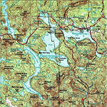 Rangeley Lakes Region Vacation Rental and Sporting Camps Map